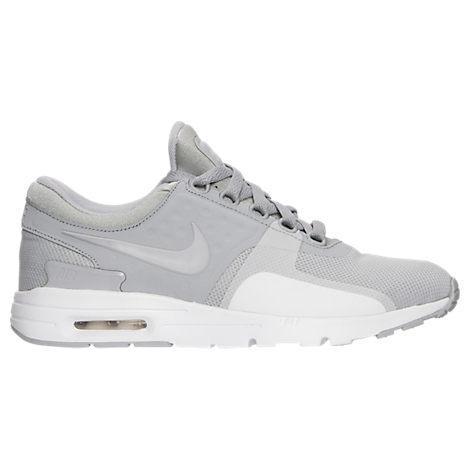 Nike Women's Air Max Zero Running Shoes, Grey In Wolf Grey/ Wolf Grey/ White