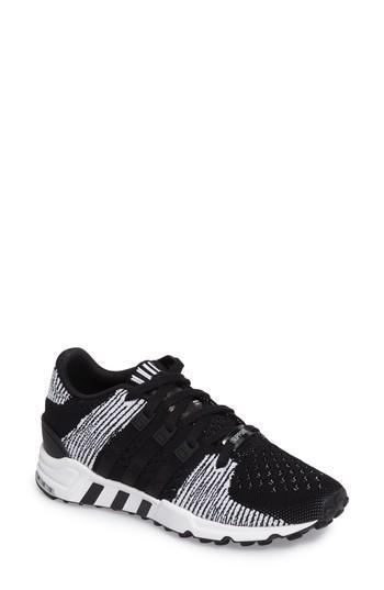 Adidas Originals Eqt Support Rf Pk Sneaker In Core Black/ Core Black/ White