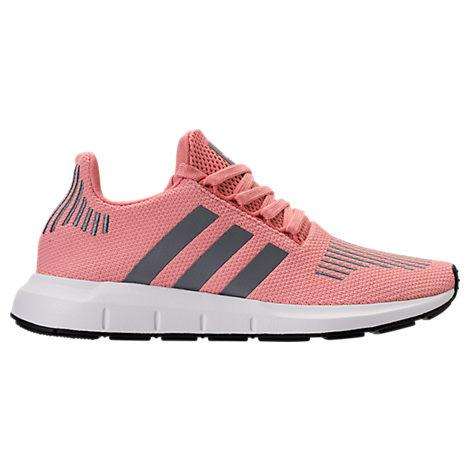 39e894213 Adidas Originals Adidas Women s Swift Run Casual Sneakers From Finish Line  In Trace Pink  Grey