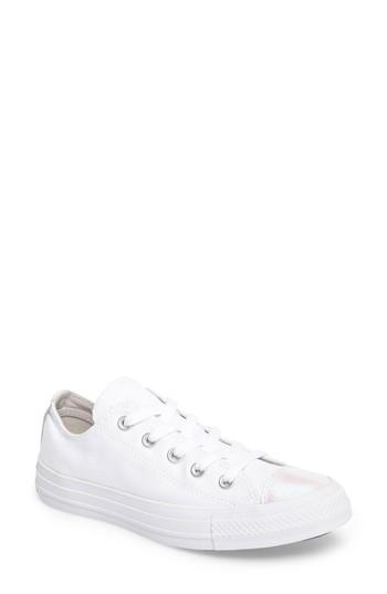 Converse Chuck Taylor All Star Seasonal Ox Low Top Sneaker In Molasses Leather