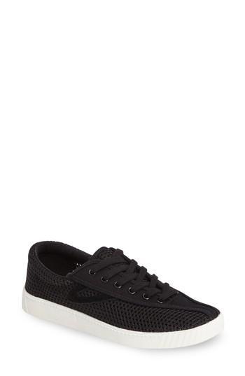 Tretorn Nylite Sneaker In Black