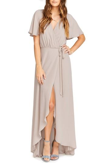 Show Me Your Mumu Sophia Wrap Dress In Show Me The Ring