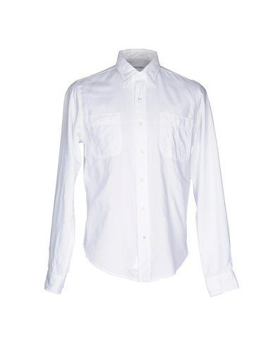 Robert Friedman Solid Color Shirt In White