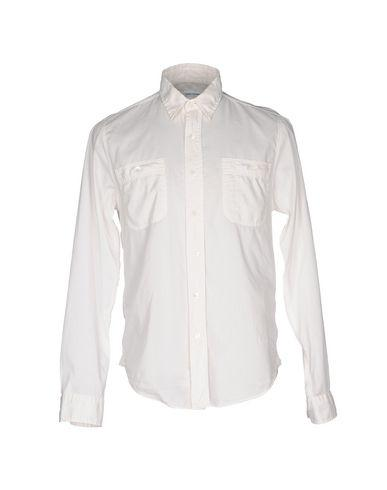 Robert Friedman Solid Color Shirt In Ivory