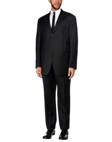 Loro Piana Suits In Steel Grey