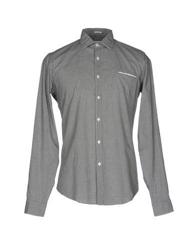 Robert Friedman Checked Shirt In Steel Grey