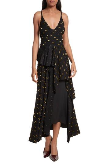 Rachel Comey Catch Crepe Maxi Dress In Black