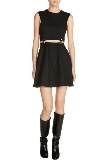 Maje 2-piece Fit & Flare Dress In Black