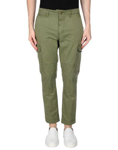 Closed Casual Pants In Green