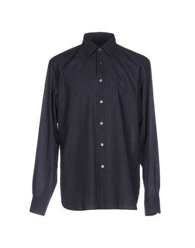 Robert Friedman Checked Shirt In Dark Blue