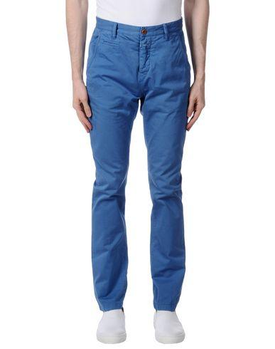 Closed Casual Pants In Azure