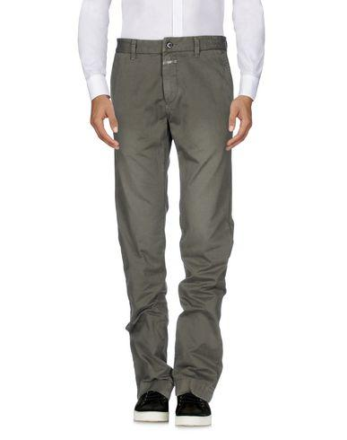 Closed Casual Pants In Lead