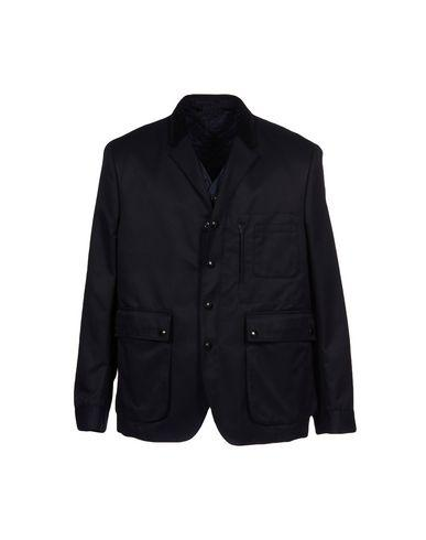 Burberry Jacket In Dark Blue