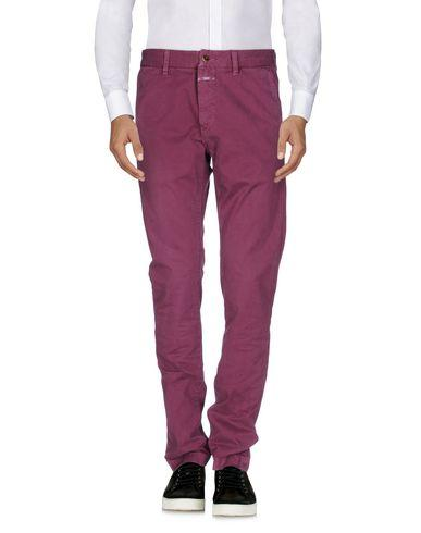 Closed Casual Pants In Mauve