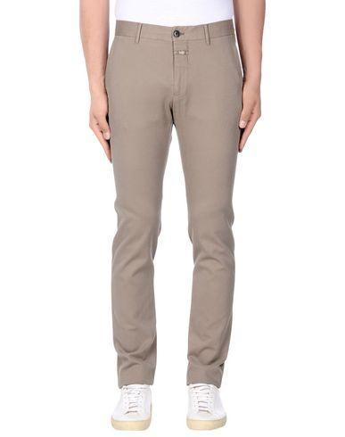 Closed Casual Pants In Khaki