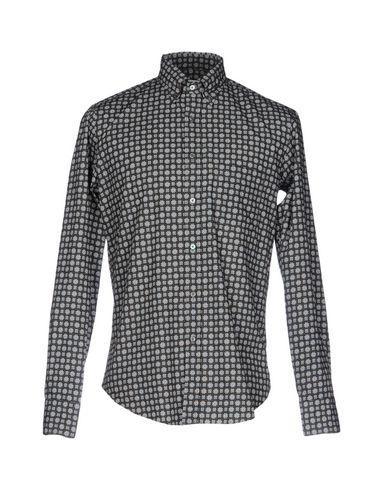 Robert Friedman Patterned Shirt In Khaki