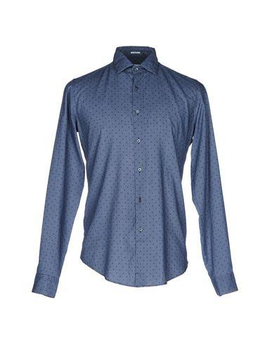 Robert Friedman Patterned Shirt In Blue