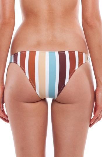 Rhythm Zimbabwe Cheeky Bikini Bottoms In Blue Multi