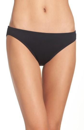 Vince Camuto Classic Bikini Bottoms In Black