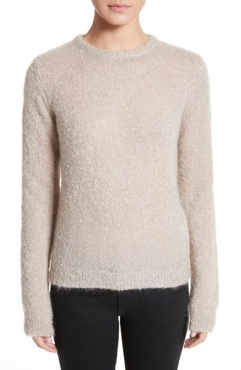 Simon Miller Tatum Mohair & Silk Sweater In Stone