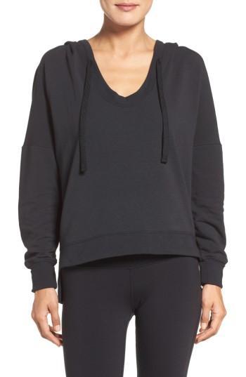 Alo Yoga Fluid Hoodie In Black