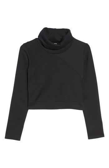 Alo Yoga Elite Crop Top In Black