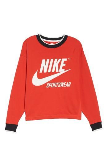 Nike Sportswear Archive Sweatshirt In Black