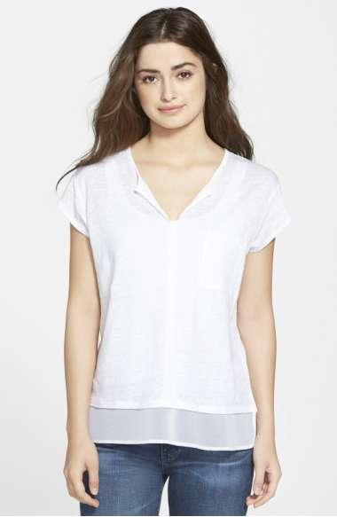 Sanctuary Short-sleeve City Mix Tee In White