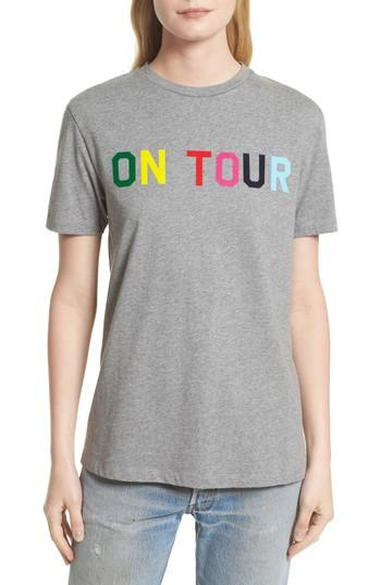 Etre Cecile On Tour Tee In Medium Grey Marled