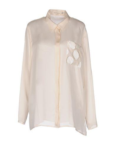 Merchant Archive Silk Shirts & Blouses In Ivory