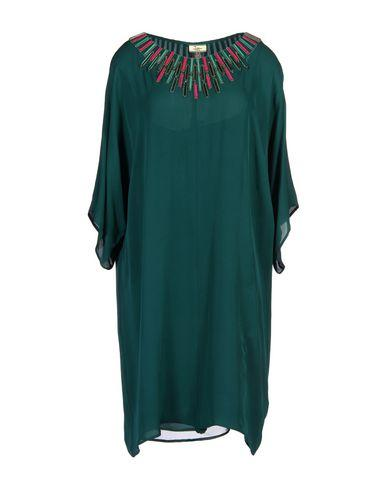 Issa Short Dress In Deep Jade