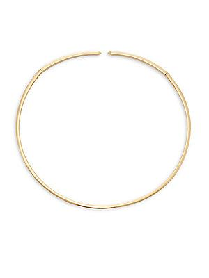 Eddie Borgo Enamel Collar Necklace In Gold