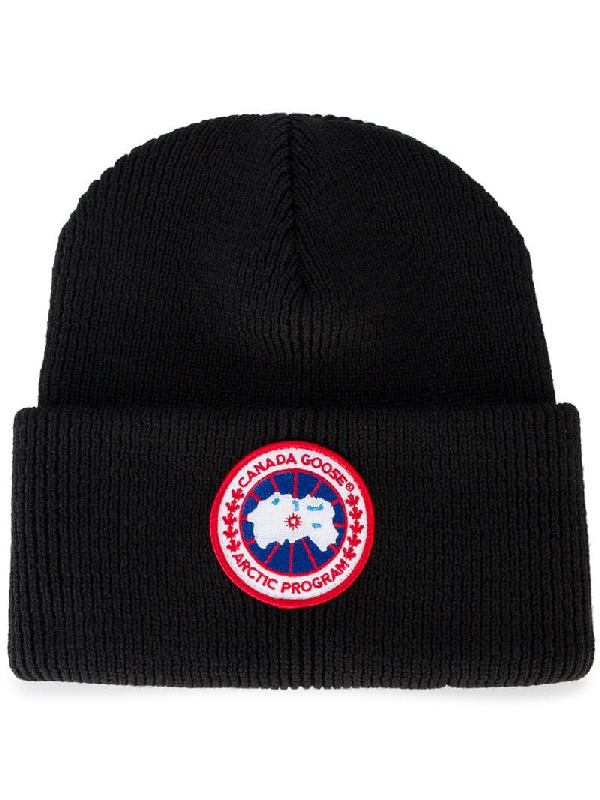 8ee21d21317 Canada Goose Arctic Disc Toque Knit Beanie Hat In Black