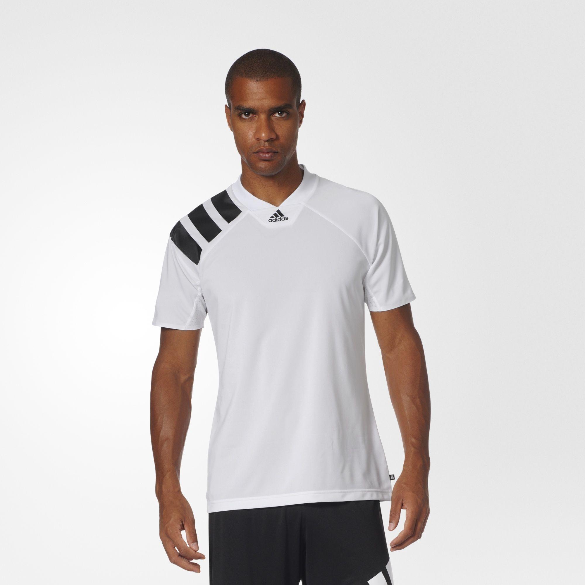 Adidas Originals Tango Stadium Icon Jersey In White/black   ModeSens