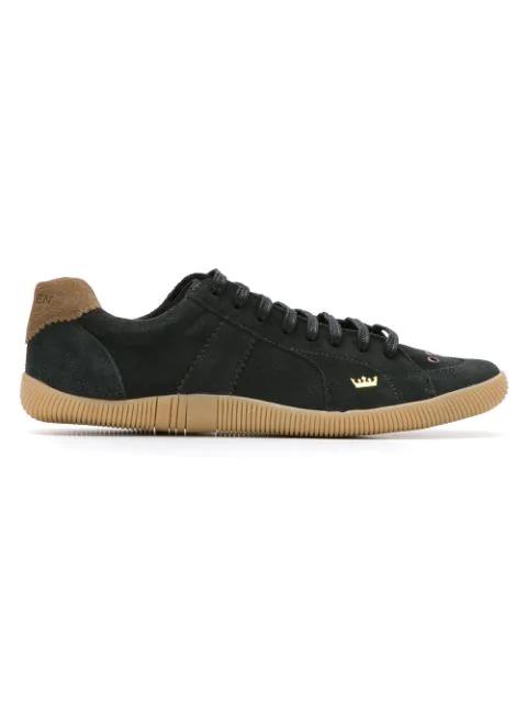 Osklen Leather Sneakers In Black