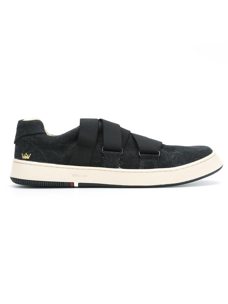 Osklen Sneakers Mit Elastischen Bändern - Schwarz In Black