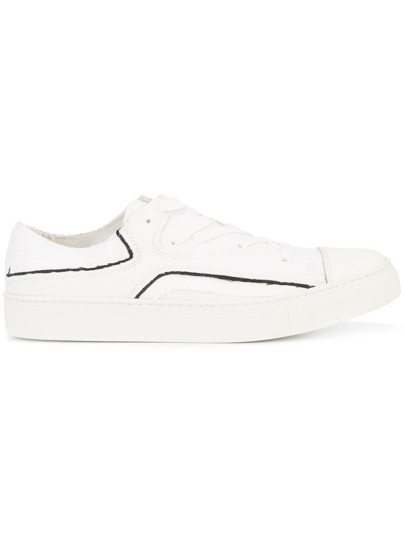 10920d99bad6d Yohji Yamamoto Layered Sneakers - White