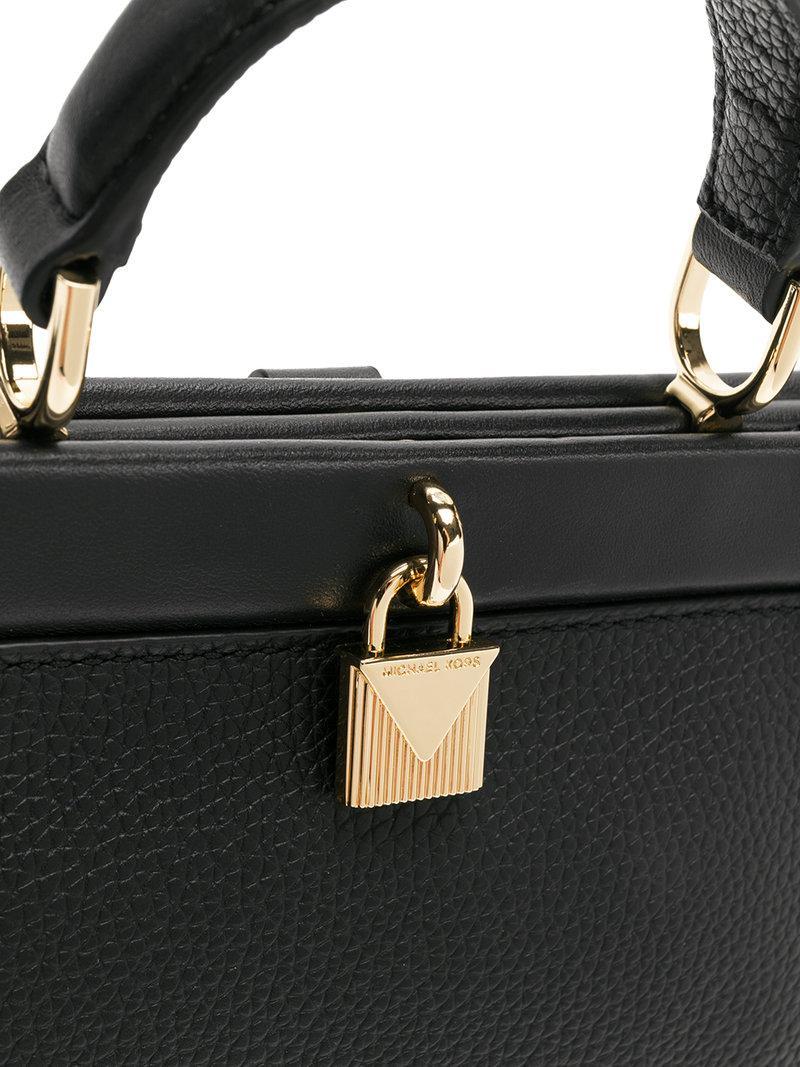 92877a792b7f Michael Michael Kors Mini Lock Detail Tote Bag | ModeSens