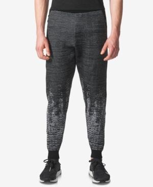 c21fd20d314 Adidas Originals Adidas Zne Pulse Knit Track Joggers In Black Marl Bq4840 -  Black