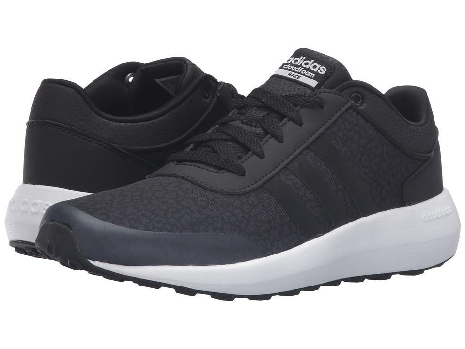 Adidas - Cloudfoam Race (black/white) Women's Shoes
