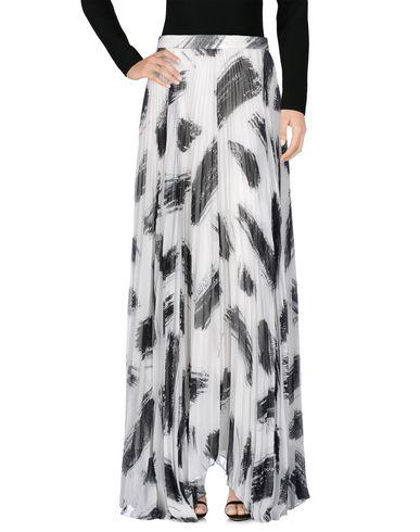 Alice And Olivia Long Skirts In Ivory