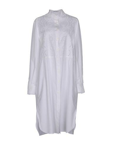 Alberta Ferretti Knee-length Dresses In White