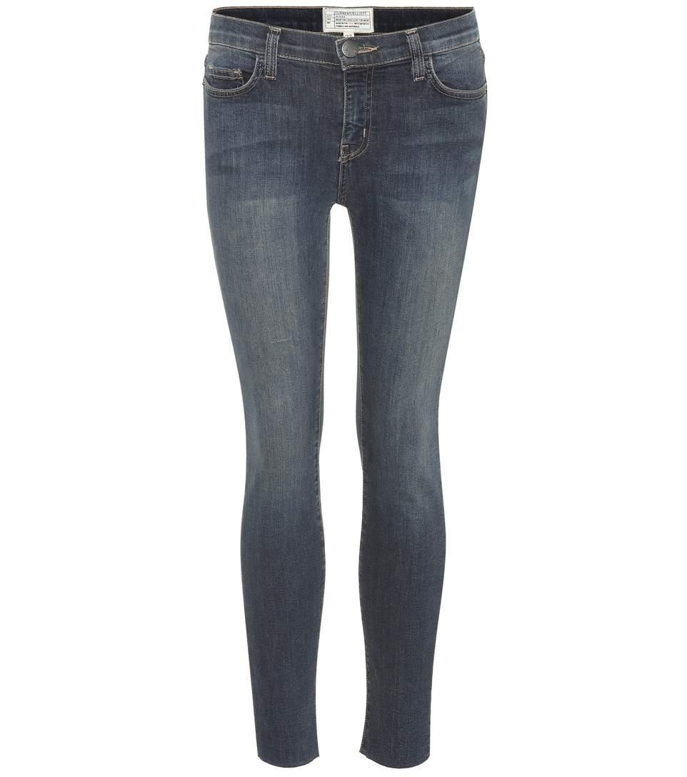 Current Elliott The Stiletto Skinny Jeans In Blue