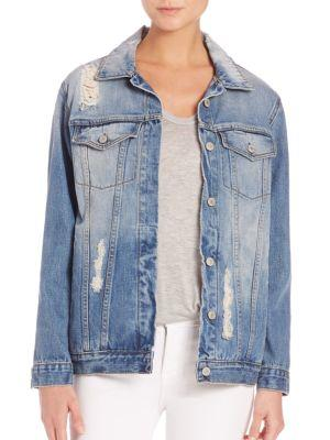 Rails Knox Denim Jacket In Medium Vintage Wash