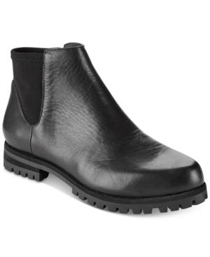 Dkny Mina Lug Ankle Boots, Created For Macy's In Black