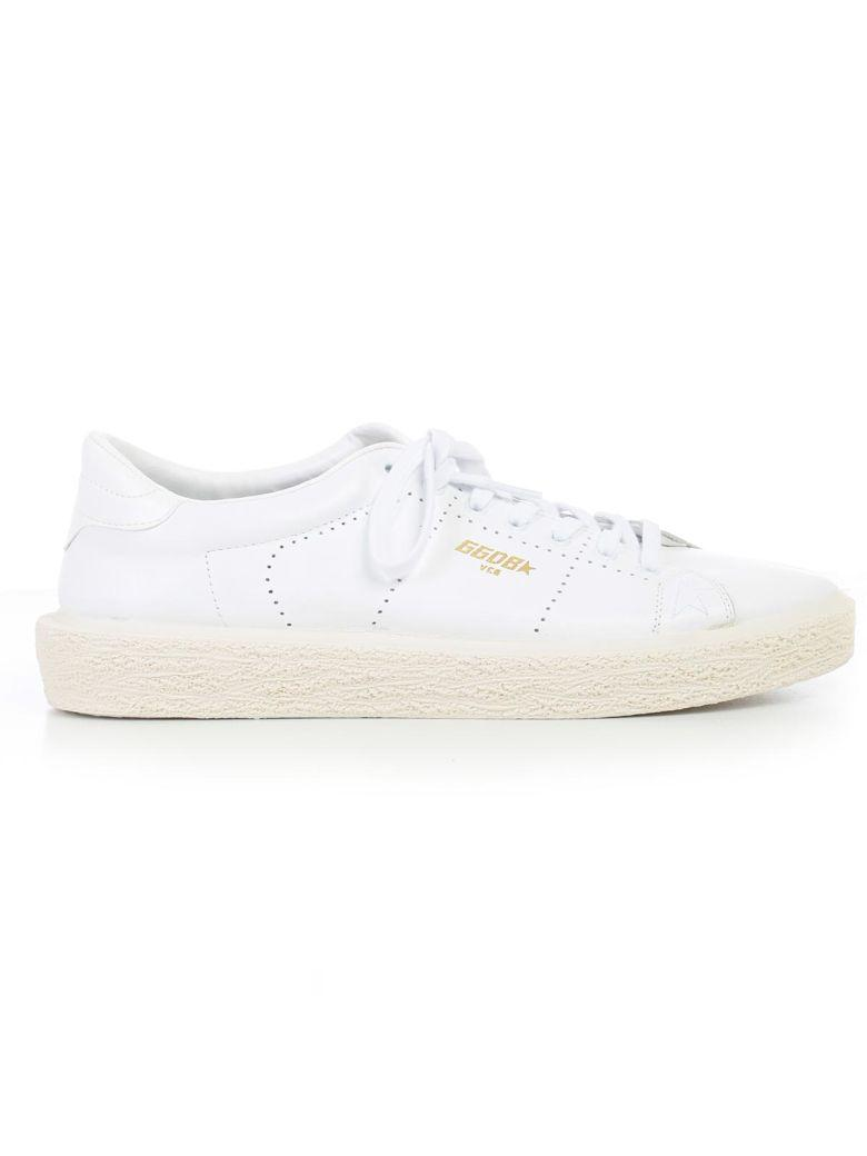 Golden Goose Sneakers In Awhite Leather
