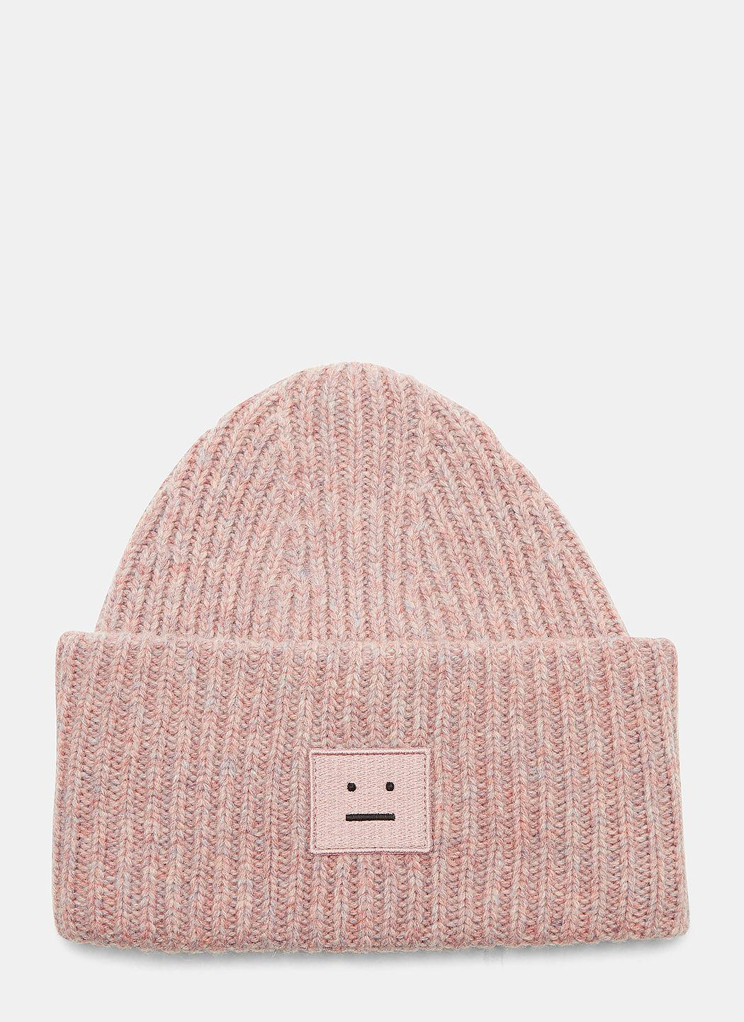 Acne Studios Pansy W Large Face Hat In Pink