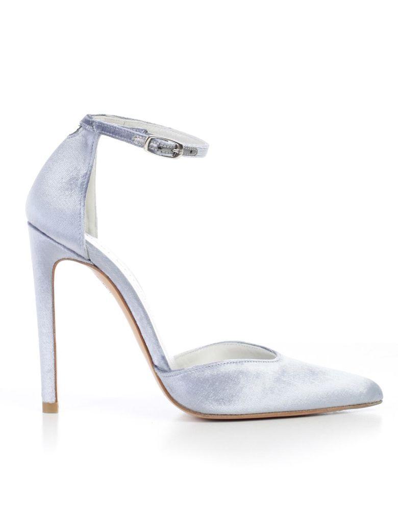 Stuart Weitzman High-heeled Shoe In Steel Pane
