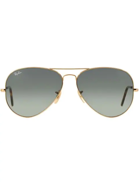 Ray Ban Ray-ban Original Aviator Sunglasses - Metallic