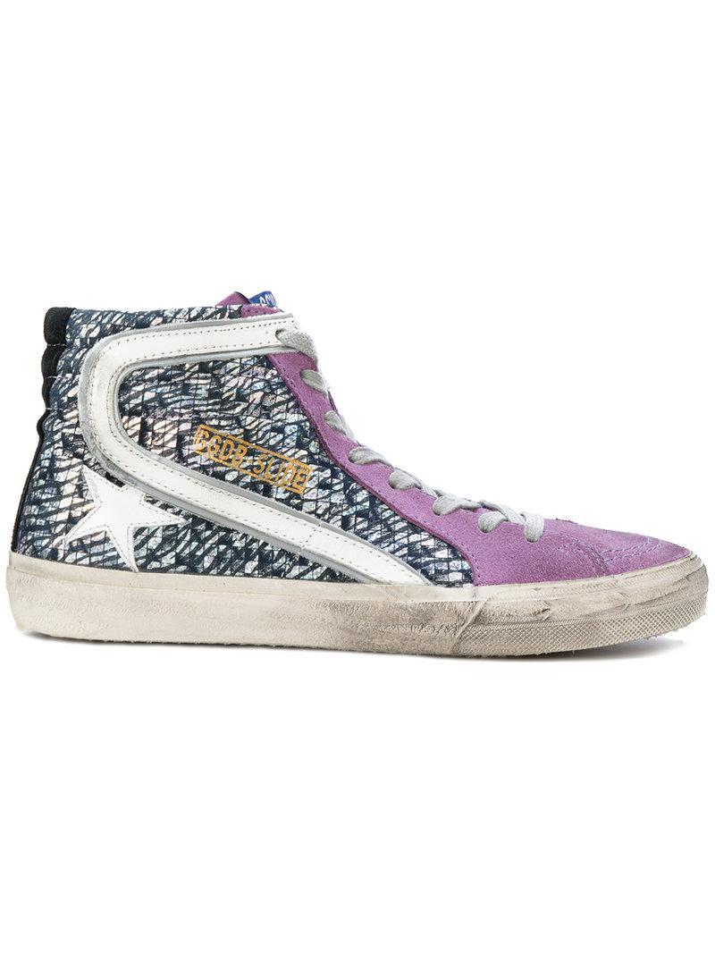 Golden Goose Deluxe Brand Superstar Sneakers - Pink & Purple